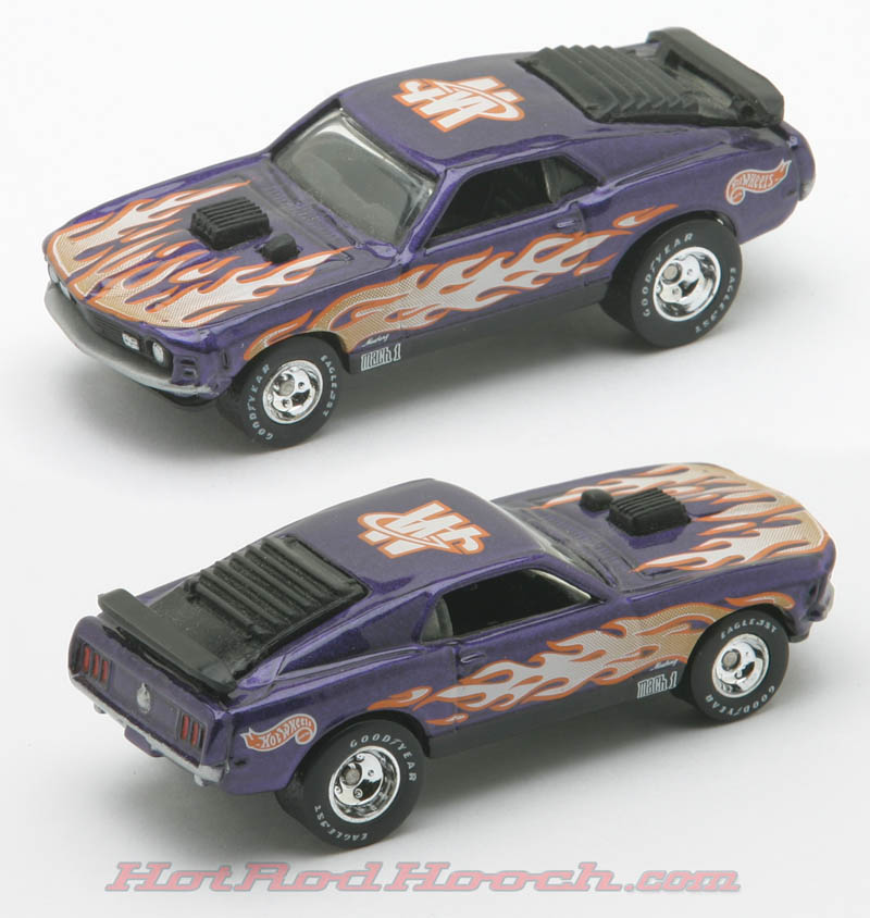 Hot Rod Hooch - Hot Wheels Mustangs.